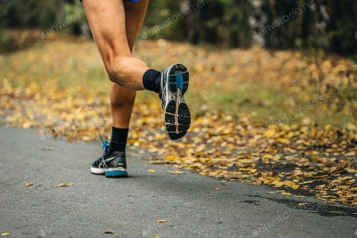 Feet Runner Marathon Running