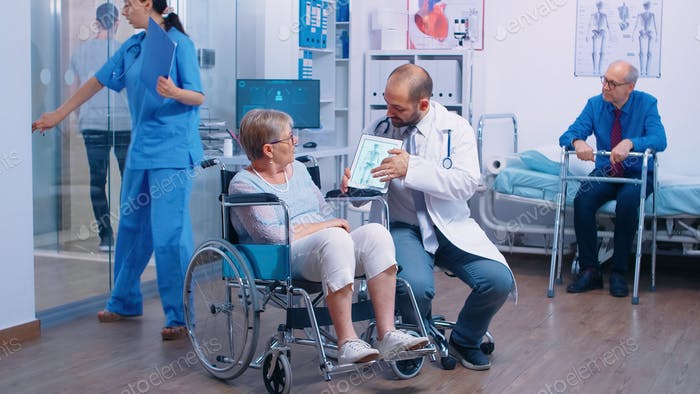Osteoporosis risk for elderly persons