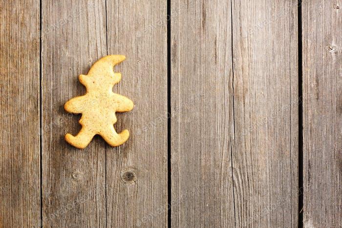 Weihnachten hausgemachte Lebkuchenkekse
