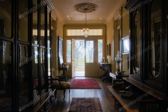 Entrance Foyer of an Old Home