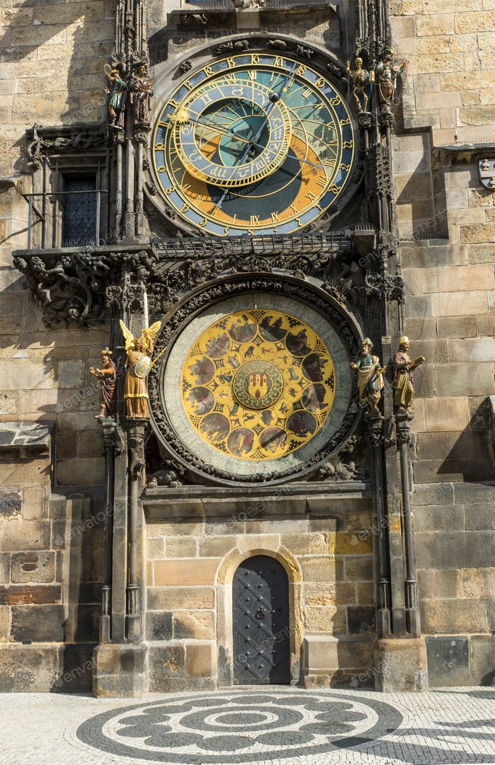 Pragues astronomical clock