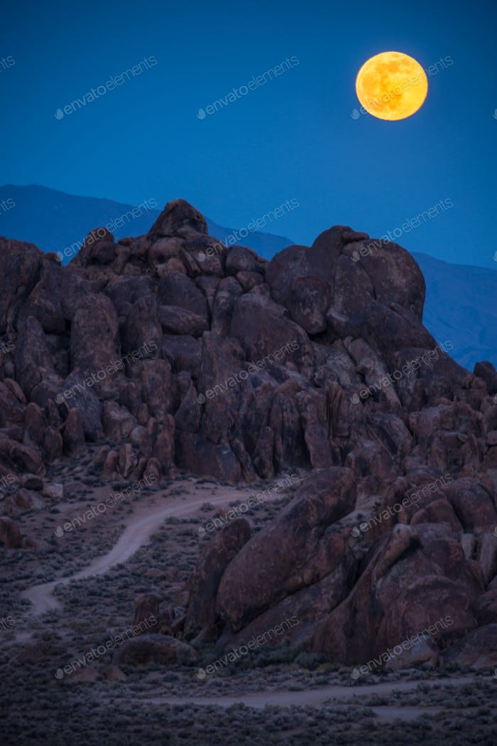 Alabama Hills California Landscape