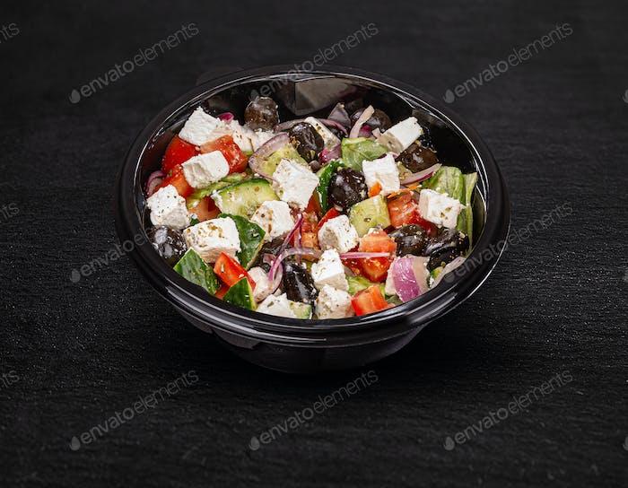 Köstlicher griechischer Salat