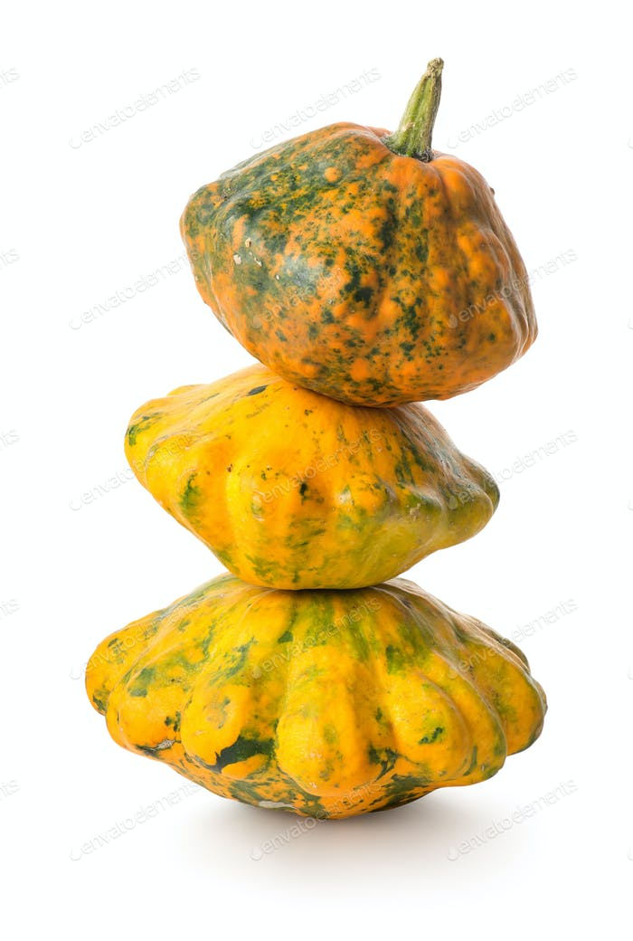 Pyramid of gourds