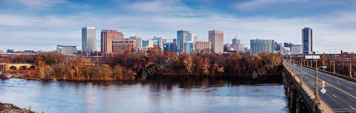 Panorama of Richmond