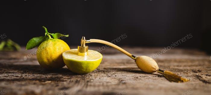 Bergamot Perfume Essence with Diffuser