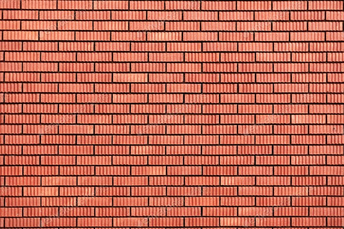 Red brick wall texture. Background with copy space for design