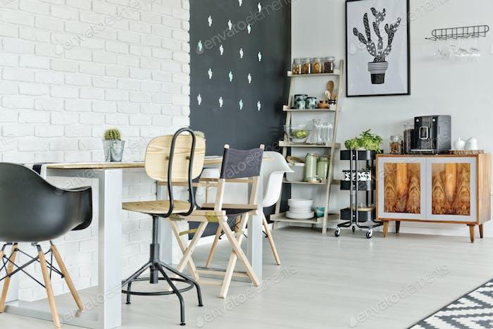 Multifunctional loft apartment