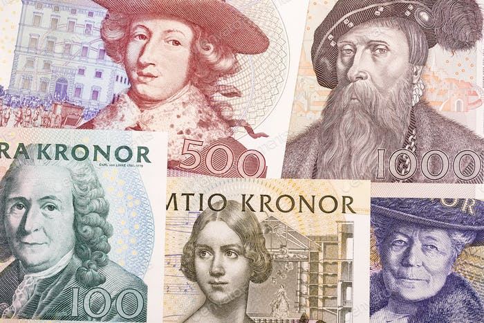 Old money from Sweden, a background