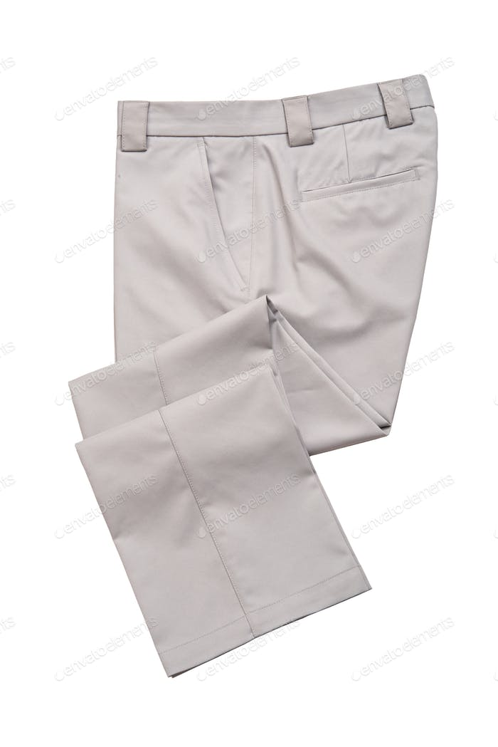 Golf Pants, Trousers for Man Gray Color