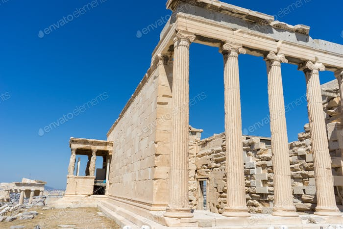 Parthenon temple. Acropolis in Athens, Greece
