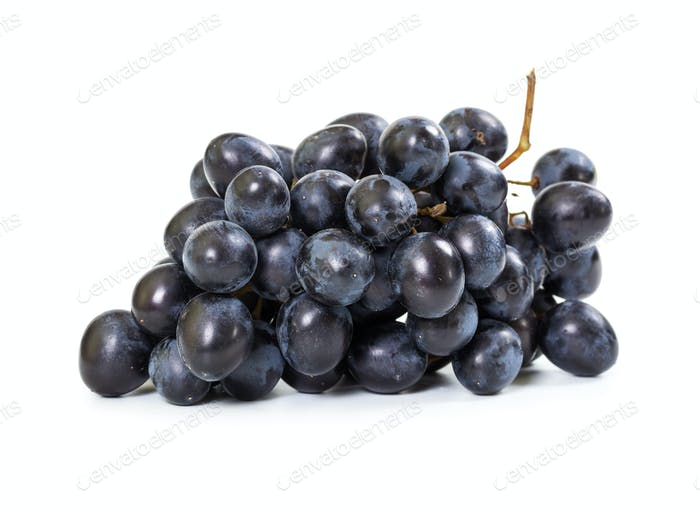 Bündel schwarzer Trauben