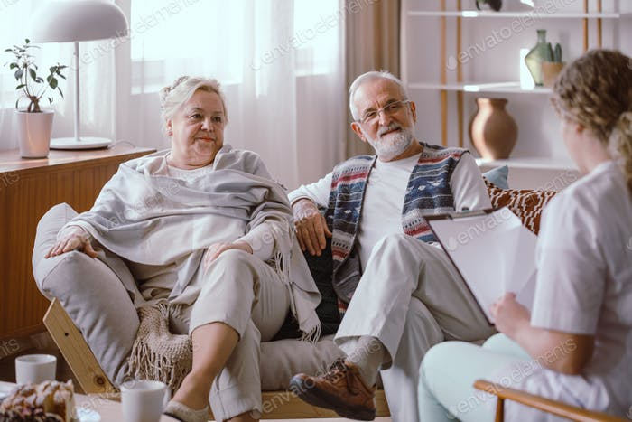 Older marriage and nurse