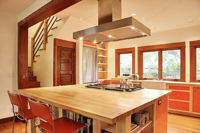 50087, Кухня в пригородном доме