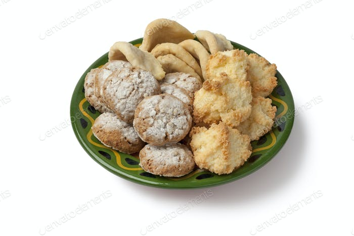 Moroccan homemade cookies