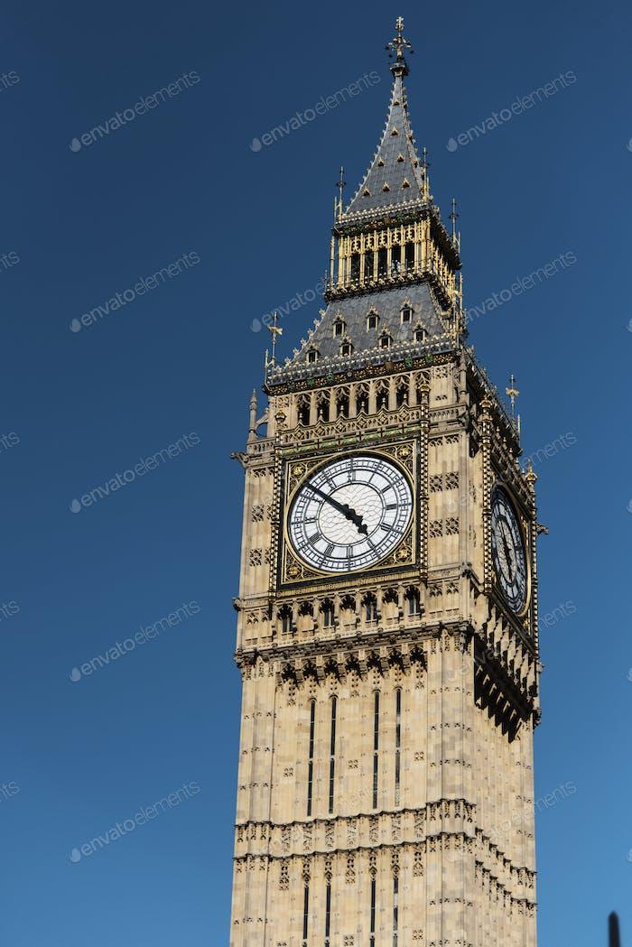 Big Ben Parliament Monument History Concept