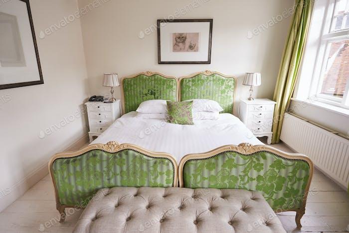 Interior Of Beautiful Modern Schlafzimmer