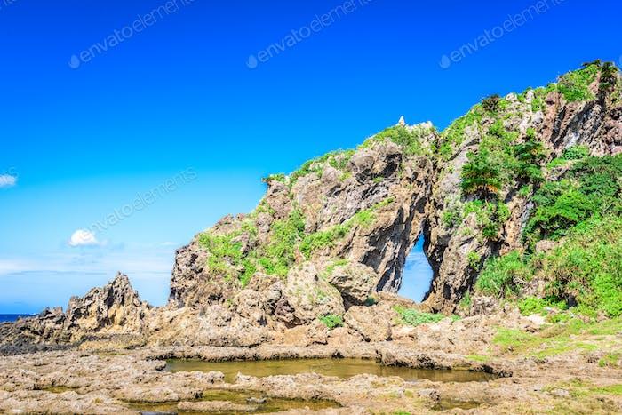 Okinawa, Japan Coast