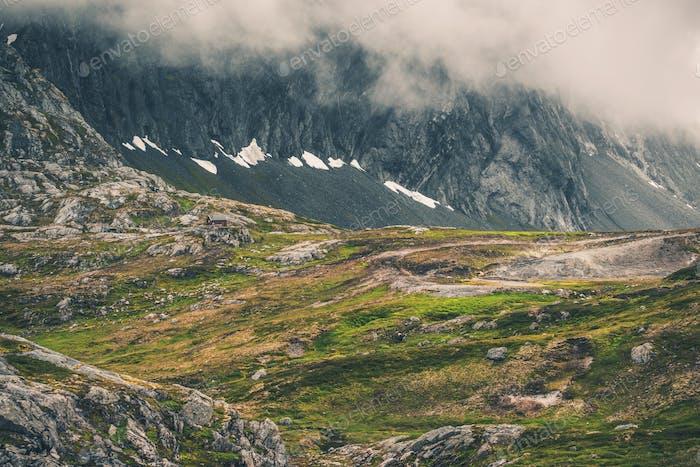 Norway Montañas Horizontal