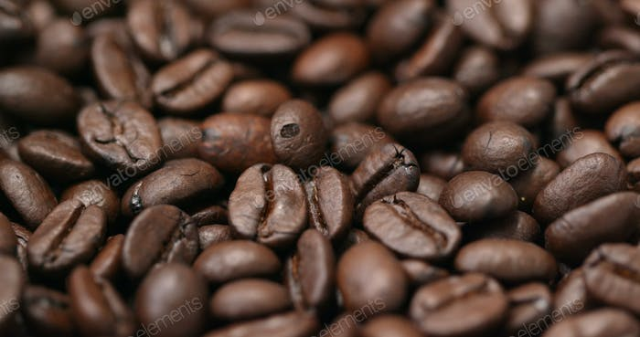 Roasted Brown coffee bean