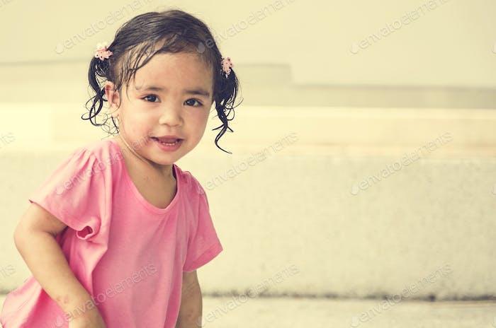 Mädchen Kind Kind Junge Elementary Adorable Niedlich Konzept