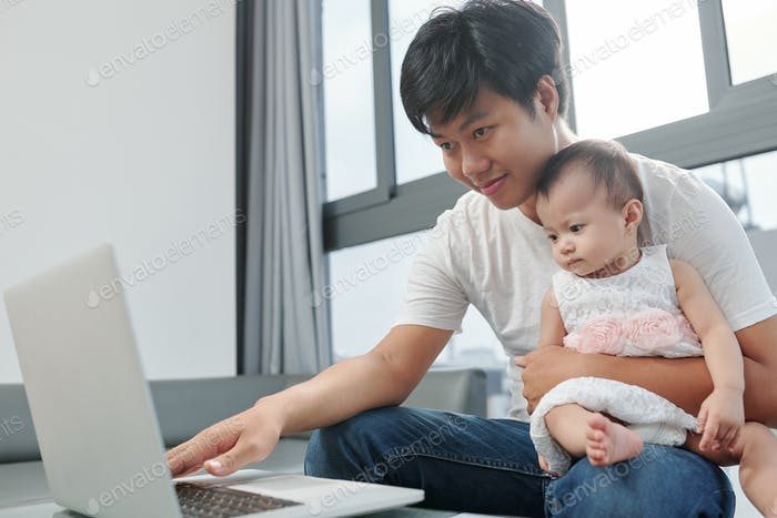 Working single father
