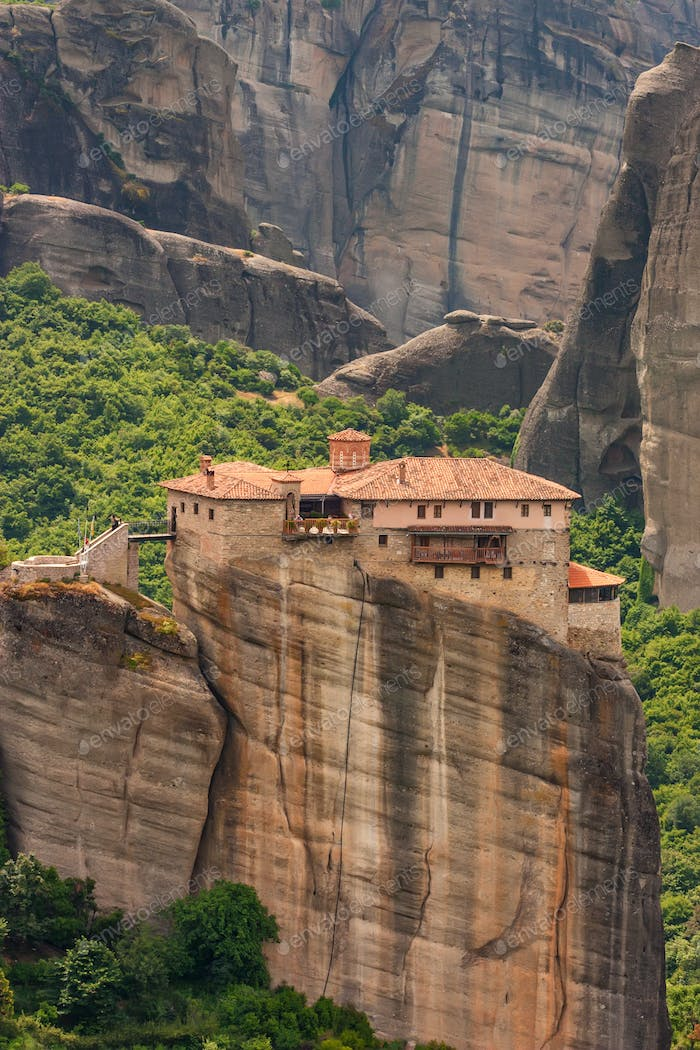 Holy Monastery of Rousanou in Meteora