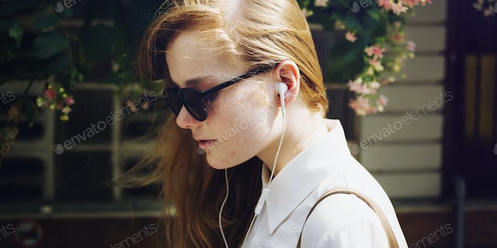 Summer Listening Chilling Connection Audio Concept