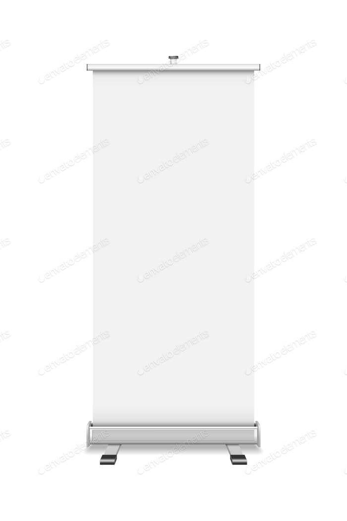 Roll Up isolated on white background