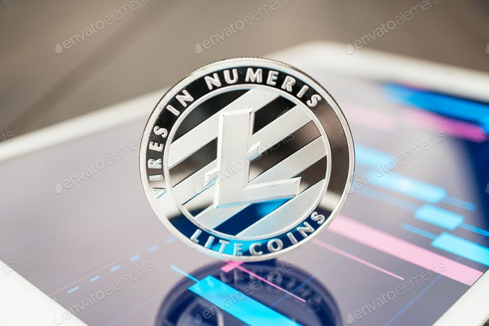 Thumbnail for Litecoin Cryptocurrency On The Tablet