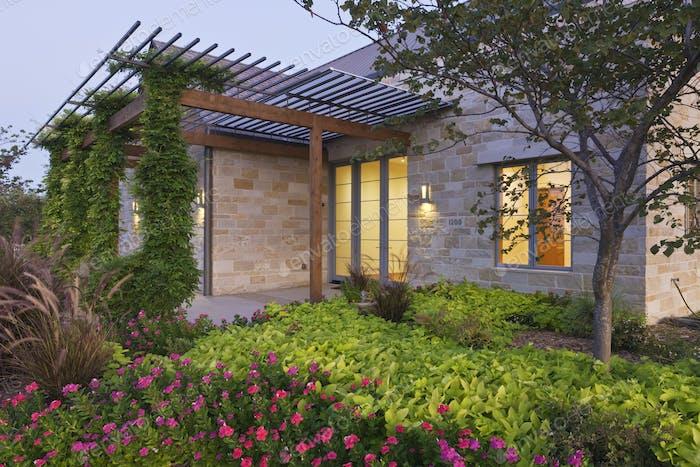 Energieeffizientes Heim Außen