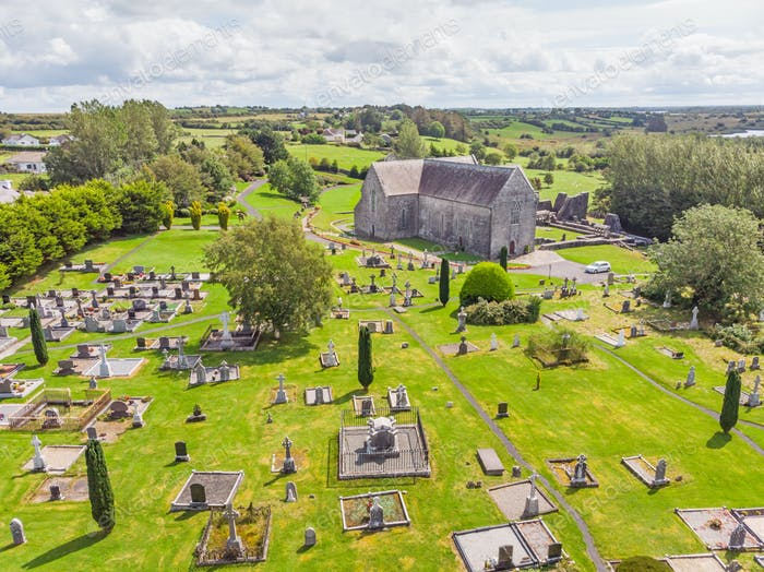 Aerial View of Ballintubber Alley