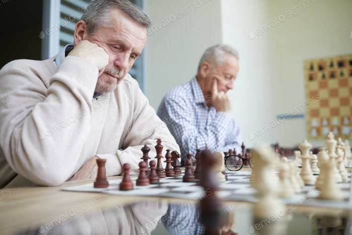 Solving chess problems