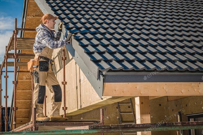Finishing Ceramic Roof