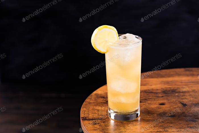 Refreshing Whiskey Ginger Cocktail