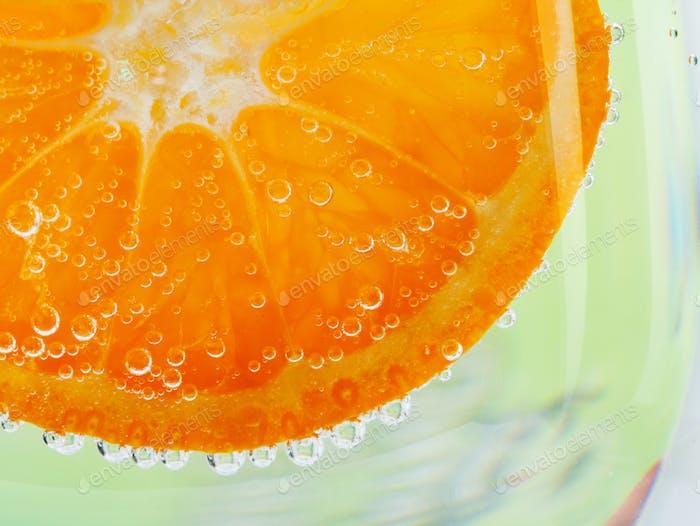 Frische orangefarbene Hintergrund