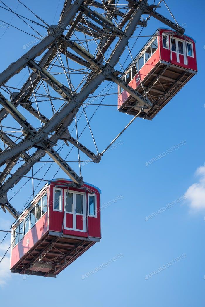 ferris wheel at Prater Vienna Austria