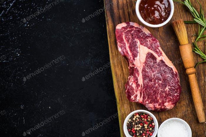 BBQ meat menu template