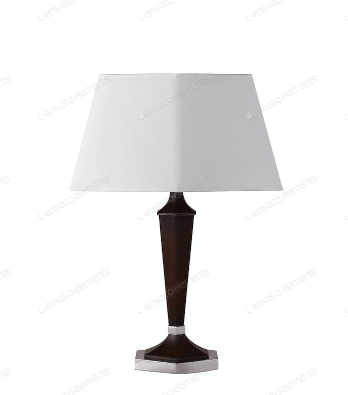 floor lamp isolated on a white background