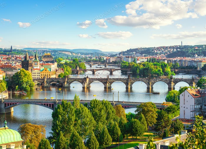 Bridges in Prague