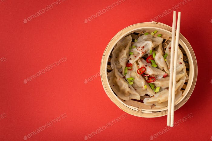 Traditionelle chinesische Knödel