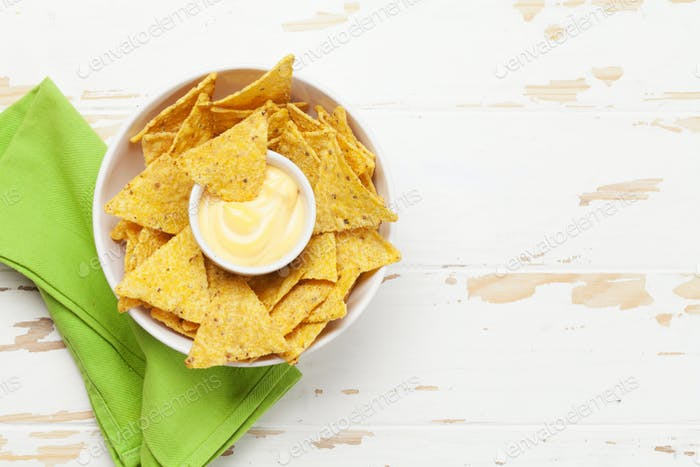 Mexikanische Nachos-Chips