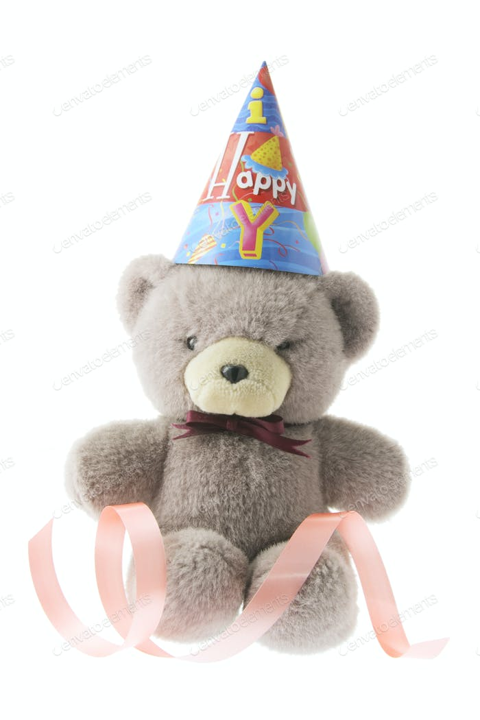 Teddy Bear with Party Hat
