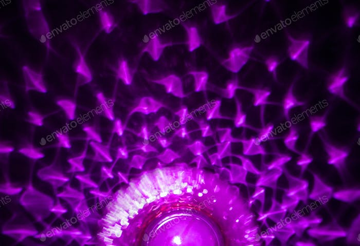 Purple abstract light reflection background