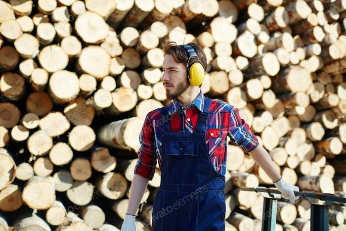 Lumber at work