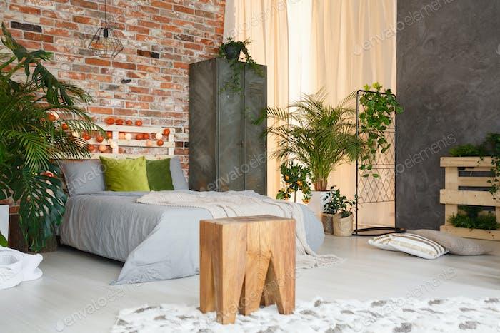 Inspiring botanic bedroom
