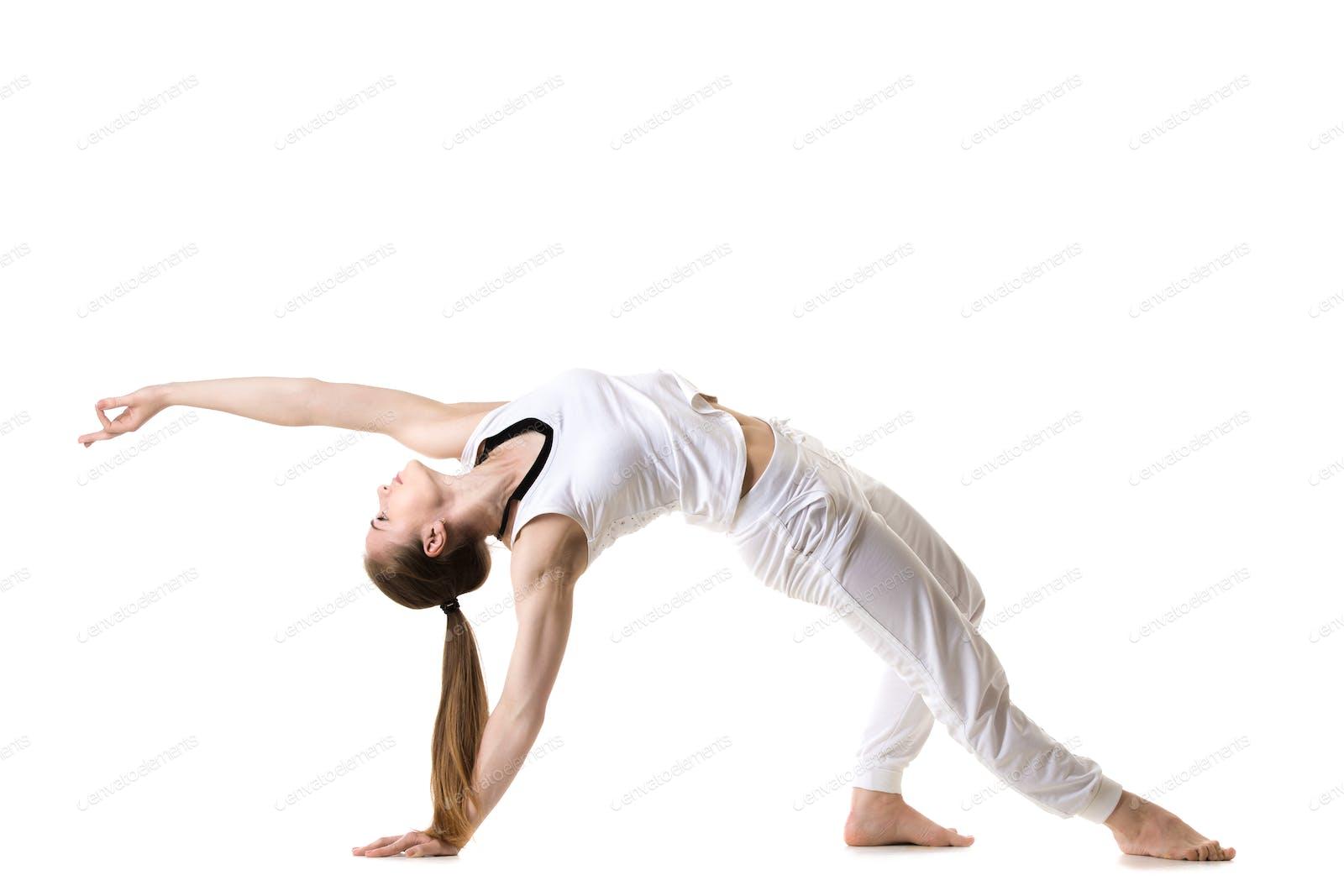 Wild Thing yoga pose photo by fizkes on Envato Elements