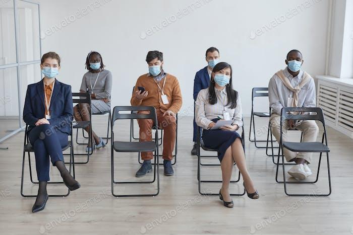 Audience Wearing Masks