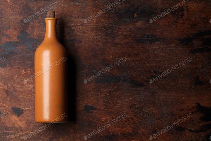 Vintage-Weinflasche