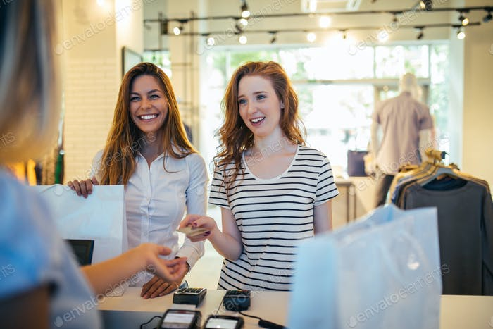 Shopping with the convenience of a card